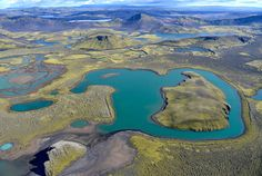 Patterns of Iceland | iceland, lakes, island, hill