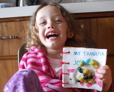 "Inhabitots offers up this great idea for helping your youngster make a Thanksgiving ""gratitude journal."" And because Inhabitots is known for its fun, eco-friendly crafts, they show you just how to make this project with homemade glue and odds and ends found around your home.    For decorations, they present loads of good ideas, such as tin foil, magazines, dried pasta, ribbons, fabric scraps, and of course, good old crayons and markers. Be sure to check out the full post for the homemade…"