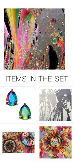"""""""Plenty of Fish in the Rainbow"""" by citizen-innogen ❤ liked on Polyvore featuring art"""