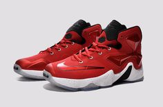 new product db9d2 a8940 2015  Gym Red  Nike LeBron 13 Gym Red Black-Total Orange-
