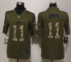 40ca7ae42 Kansas City Chiefs 11 Green Salute To Service New Nike Limited Jersey  Dallas Cowboys Women