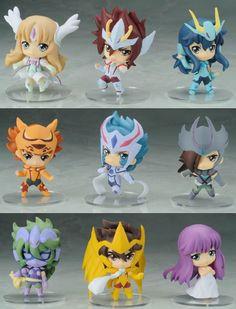Decute - Saint Seiya Omega Trading Figure BOX *-*