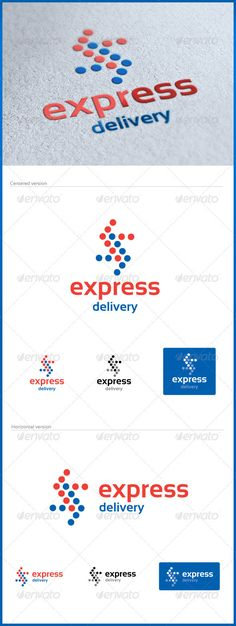 Express Delivery Logo — Vector EPS #moving #import • Available here → https://graphicriver.net/item/express-delivery-logo/3110311?ref=pxcr