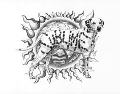 SUBLIME ORIGINAL SKETCH PRINTS - POSTER SIZE - BLACK & WHITE - FEATURES LOUIE DOG. PRINT OF HIGHLY-DETAILED, HANDMADE DRAWING BY ARTIST MIKE DURAN   http://citymoonart.com/sublime-original-sketch-prints-poster-size-black-white-features-louie-dog-print-of-highly-detailed-handmade-drawing-by-artist-mike-duran/