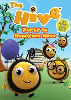 """Disney Junior's Hit Animated Series, """"The Hive"""" Has Two New DVDs Available for Purchase from Cinedigm Entertainment"""