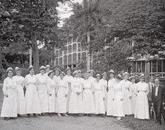 Nurses Working on the Panama Canal