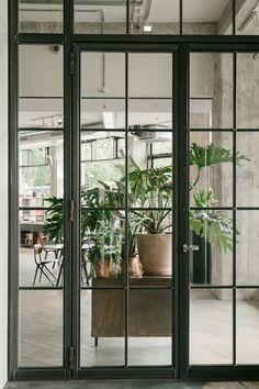 The Store X · Berlin, Germany - IGNANT Soho House Berlin, Glass Partition Wall, Door Detail, Immersive Experience, Berlin Germany, Ground Floor, Modern Interior, Door Handles, Sweet Home