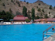 Kahneeta - Central Oregon Resort This huge pool has the warm mineral water in it