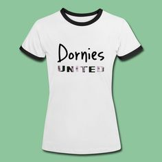 """Jamie Dornan Shirts and Gifts """"Dornies United"""" - beautiful and unique design on more than 20 high quality products for all huge Jamie Dornan Fans. He is the BEST Grey, but also much more! Show your support for this amazing actor with great stuff! #jamiedornan #fans #support #merchandise #fun #shirts #tees #gifts"""