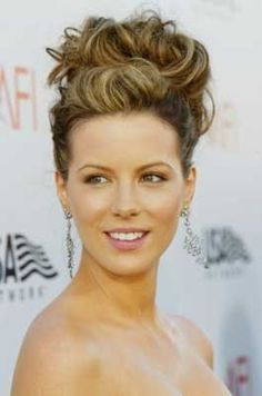 Kate Beckinsale perfection - hair up! woman does no wrong