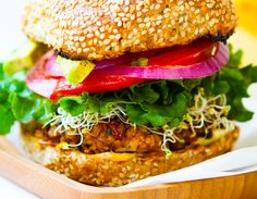 """<p>These robust burgers pack some serious flavor - you'll be going back for seconds, guaranteed.<a href=""""http://kblog.lunchboxbunch.com/2012/04/spicy-vegan-chili-burgers-red-beans.html"""" target=""""_blank"""">Get the recipe here.</a></p>"""