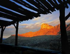 Guadalupe Mountains National Park near El Paso, Texas