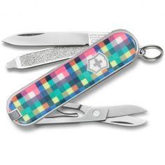 Swiss Army Plaid Classic Knife by Victorinox