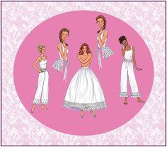 SOUTHERN BELLE UNDERGARMENTS-Historical Sewing Pattern-Hoop Skirt Petticoat-Pantaloons-Tie-On Bustle Back-Lace-Ribbon-Uncut-Size 18-22-Rare by FarfallaDesignStudio on Etsy