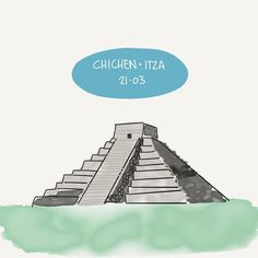 You'd like this one by unlearn.mexico #madewithpaper #enclavedepod (o) http://ift.tt/2bpEjFV is here and one of the most magical places to witness such an event is Chichen Itza. The Kukulkan pyramid was built in a way that a snake (Kukulkan a Mayan god) comes down it when Spring arrives. What is special about Spring in your country? // La primavera ha llegado y uno de los lugares mágicos para recibirla es Chichen Itza. La pirámide de Kukulkán se construyó de tal forma que una serpiente…
