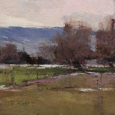 Douglas Fryer   Farm Near Fairview (Autumn Breezes)   Meyer Gallery