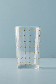 Dotted Juice Glass $8