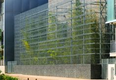 Rue Royale Architectes wrapped extension of the Perrache-Confluence electrical substation in a skin made of gabion cages.