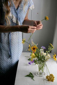 △ flower arrangement