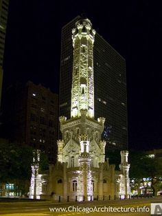 Old Water Tower: 806 North Michigan Avenue, Chicago, Illinois, 60611