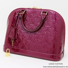 Louis Vuitton M50561 Alma PM Tote Bag Monogram Vernis Gucci Handbags, Designer Handbags, Alma Pm, Clutch Wallet, Louis Vuitton Monogram, Kate Spade, Chanel, Valentines, Michael Kors