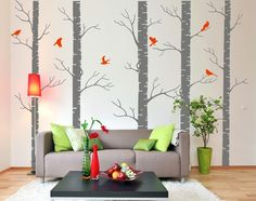 such an easy way to bring color to the walls! and removable, which is handy for the military lifestyle
