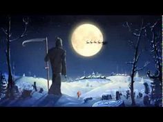 "Christmas-CGI Animated Short HD: ""Santa and Death"" by - Simpals Merry Christmas And Happy New Year, Christmas Music, Christmas Humor, Christmas Gifts, Christmas Ideas, Funny Christmas Cartoons, Funny Cartoons, Carl Sagan, Herman Cartoon"