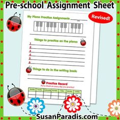 Beginners Assignment Sheet