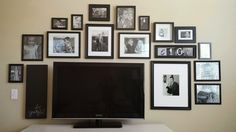 how to arrange pictures on a wall - Google Search