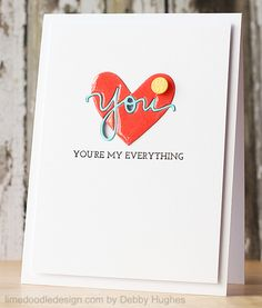 You're My Everything Card » Lime Doodle Design