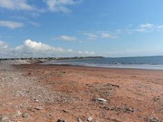 Quebec beach... Just across the road from the farm
