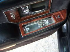 Remember when car doors had ashtrays? Rear Door [Ashtray Door Open] by BigBlackLincoln, via Flickr