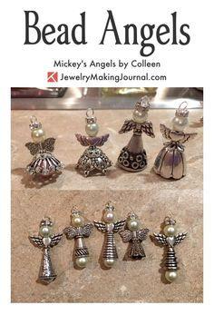 Bead Angels How to Make | Bead Angels DIY | Bead Angels Tutorial | Bead Angels