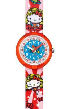 Reloj Flik&Flak FLNP017 Hello Kitty Supergirl