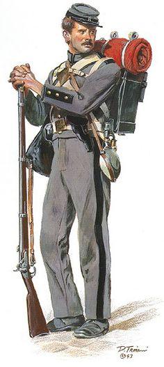 """""""8 th Company, 7 th New York State Militia (1861)"""", Don Troiani"""