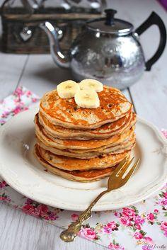 Apetyt i Smak: Bananowo - gryczane pancakes