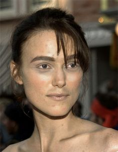 Keira Knightley without makeup Yikes!