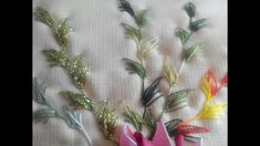PUNTADA ENRAMADA (Arbored stitch)