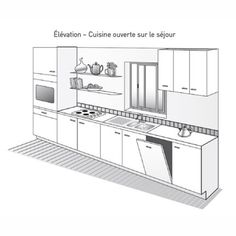 Plan De Cuisine - Marie Claire intended for 20 Mieux Images De Plan Pour Cuisine Kitchen Cabinet Design, Kitchen Storage, Black Kitchens, Home Kitchens, Wooden Kitchen, Kitchen Decor, Kitchen Layout Plans, Shop Interior Design, Kitchen Remodel