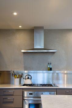 Kitchen Backsplash Centerpiece kitchen backsplash centerpiece | venetian plaster kitchen