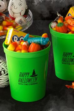 Personalize your Halloween party with spooky stadium cups from ForYourParty.com.