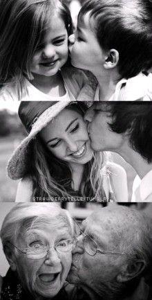 Love has no age, no limit; and no death.