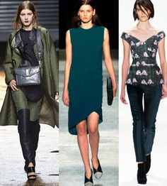 Fall 2013 Fashion Trends | ... Totally Wearable Fall 2013 Fashion Trends | BettyConfidential | Page 3  THE GREENS HAVE IT!!