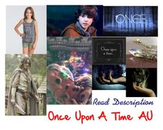 """""""Once Upon A Time """"AU, Read Description"""""""" by mundca ❤ liked on Polyvore featuring Once Upon a Time and Billabong"""