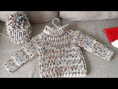 Crochet For Boys, Crochet Baby, Knit Crochet, Boy Crochet Patterns, Baby Patterns, Patron Crochet, Crochet Jacket, Knitting Videos, Baby Sweaters