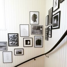 Frame wall stairs