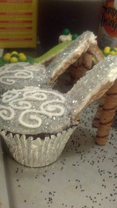 High heel cupcakes - photo only