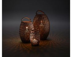 DALA Lantern by Dedon design Stephen Burks Infused Water Bottle, Design Bestseller, Fitness Gifts, Cold Treatment, Chandelier Lighting, Chandeliers, Contemporary Interior, Cool Gadgets, Earth Tones