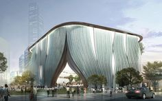 xiqu center to be designed by bing thom architects / ronald lu & partners on kowloon, hong kong