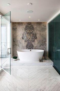 Easy methods to Select a Deep Bathtub for That Soaking Expertise - joecatherine House Paint Interior, Bathroom Design Luxury, Luxury Bath, Bathroom Inspiration, Bathroom Ideas, Beautiful Bathrooms, Home, Master Bath, Master Suite
